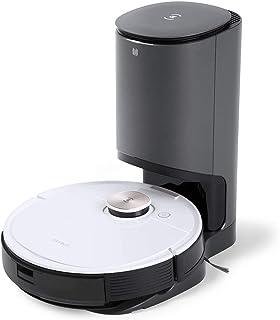 DEEBOT OZMO T8+ エコバックス ロボット掃除機 高精度マッピング機能 自動ゴミ収集機搭載 約30杯分をまとめて一度にゴミ捨て 水拭き 強力吸引 除菌率99.26% フローリング/畳/カーペット掃除 Alexa対応