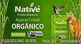 Açúcar Cristal Orgânico Native com 50 Sachês de 5g
