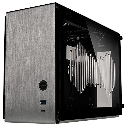 ZALMAN M2 Mini シルバー ミニタワーPCケース Mini-ITX対応 容量約11L M2 Mini(Silver) CS8136