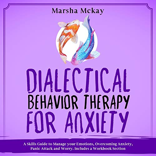 『Dialectical Behavior Therapy for Anxiety』のカバーアート