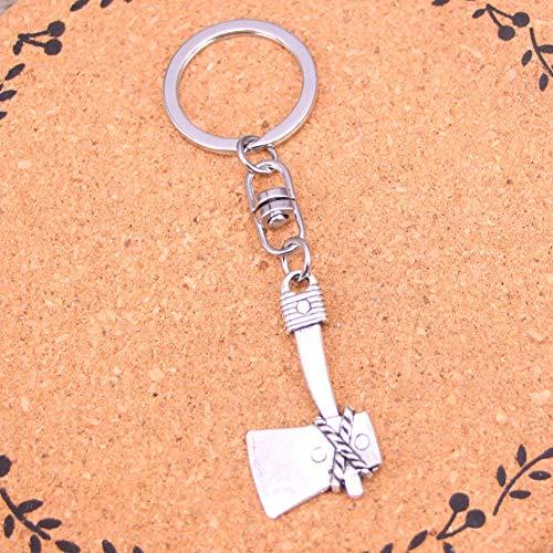 TAOZIAA Fashion Amulet Charm Evil Eye Sliver Vergulde sleutelhanger bijl Legering Sleutelhanger Voor Gift Auto Sleutelhanger Sieraden