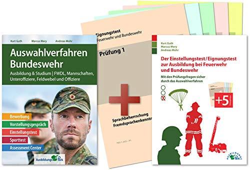 Auswahlverfahren und Einstellungstest Bundeswehr – alles in einem Paket: Bewerbung, Vorstellungsgespräch, Eignungstest, Sporttest, Assessment Center | Geeignet für alle Laufbahnen!