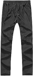 Fulision Men's Pants Thickened Men's Trousers Warm Pants Waterproof Plus Velvet Sports Pants Men