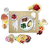 Learning Resources Magnetic Healthy Foods, Magnetic Food, 34 Pieces, Ages 3+