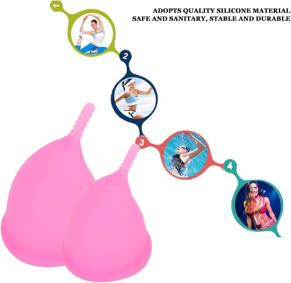 Coppetta mestruale riutilizzabile a prova di perdite comoda coppetta mestruale riutilizzabile #1 tazza igienica di sicurezza femminile senza perdite forniture mestruali riutilizzabile