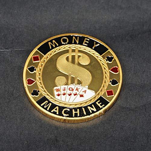 Pièce De La Chance,Pièce De Défi,Pièce De Décision,Jetons,Poker,Haute Qualité,Métal,Métiers D'Art,Pièce Commémorative,2Pcs Meilleur Cadeau/A / 2Pcs