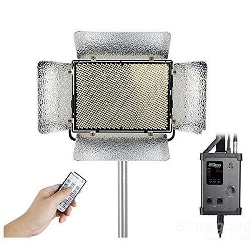 Doradus Aputure Ls 1S 1 / 2W CRI95 + LED Video-Licht 264 SMD-Lampe Perlen mit A / V-Mount Akku Helligkeit DMX-Konsole