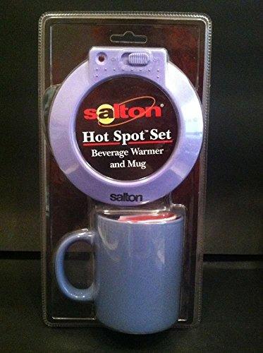 Salton Hot Spot Set: Beverage Warmer and Mug