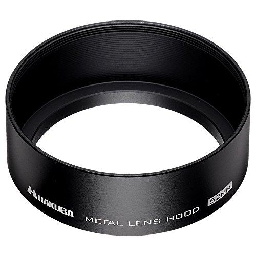 HAKUBA レンズフード メタルレンズフード 高強度6000系アルミニウム合金製 52mmフィルター径装着用 ブラック KMH-52