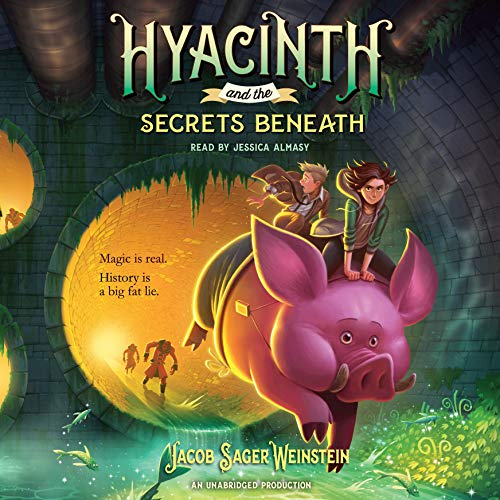 Hyacinth and the Secrets Beneath audiobook cover art