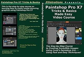 paintshop pro x7 tutorials