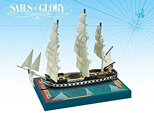 Ares Games Sails of Glory Ship Pack - USS Constitution 1797, 1812 Board Game by