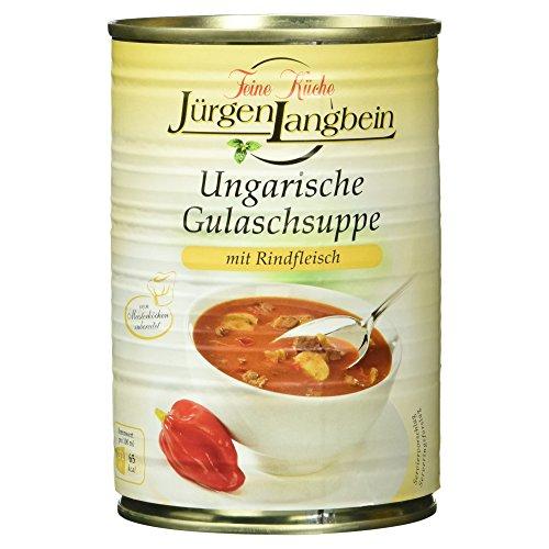 Jürgen Langbein Ungarische Gulaschsuppe, 400 ml