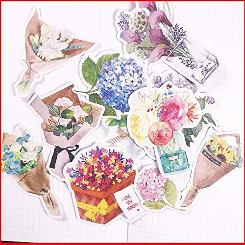 BLOUR gepersonaliseerde stickers voor fotoalbums bloemen vintage gepersonaliseerde stickers voor scrapbooking gepersonaliseerde materiaal planner decoratie Craft13 stuks