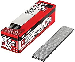 PORTER-CABLE PNS18100-1 1-Inch 18 Gauge Narrow Crown Staple, 1000-Pack