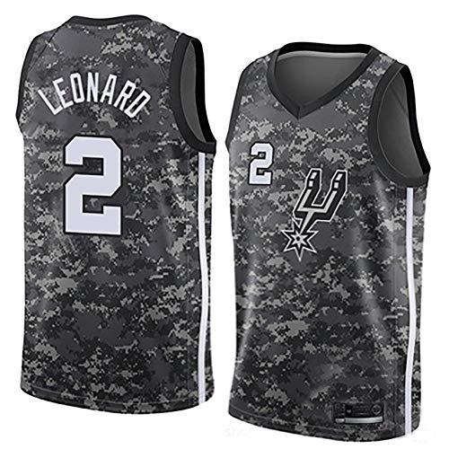 IFYG Traje de Baloncesto de Spurs de la NBA XL Camouflage