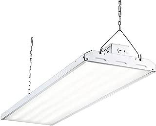 Hykolity LED High Bay Shop Light, 4FT 223W 135LM/W Linear LED Industrial Workshop Light, Warehouse Aisle Area Light 30105lm, 5000K, 4 Lamp Fluorescent Equivalent, 1-10V Dim, UL, DLC Premium Complied