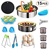 15PCS Pressure Cooker Accessories Set for Instant Pot 5 6 8 QT