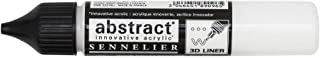 Sennelier Abstract Acrylic Liner, 27ml, Titanium White, (10-121301-116)