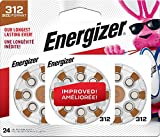 Energizer Hearing Aid Batteries Size 312, EZ Turn & Lock (24 Battery Count)