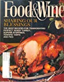 Food & Wine Magazine, November 1993