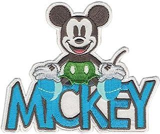Simplicity Wrights–Cinta Decorativa Disney Mickey Mouse diseño de Mickey con Nombre para Planchar