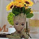 NOTENS Baby Groot Blumentopf Stiftehalter Groot Action Figur für Pflanzen & Stifte