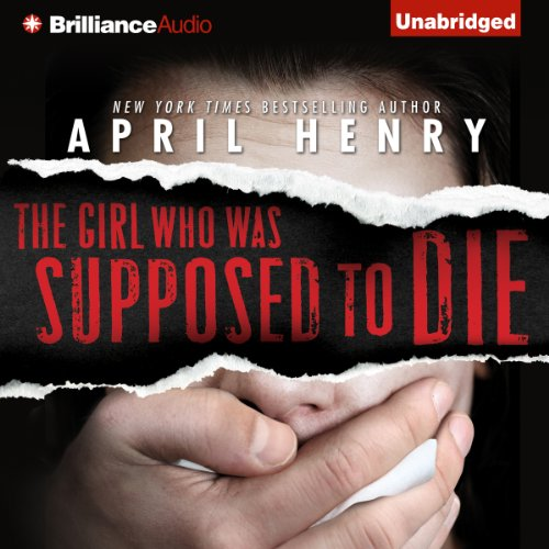The Girl Who Was Supposed to Die audiobook cover art