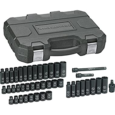 GearWrench 84916N SAE/Metric 3/8  Drive Impact Socket Set (44 Piece)