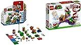 Steinchenwelt Super Mario 71360 aventuras con Mario - Set de iniciación + desafío de plantas Piranha 71382