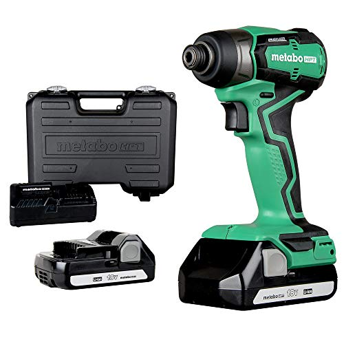 Metabo HPT Cordless 18V Impact Driver   Sub-Compact   Brushless Motor   Lithium-Ion Batteries   Lifetime Tool Warranty   WH18DDX