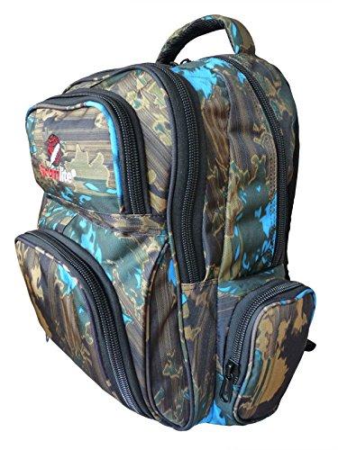 Roamlite Kinderrugzak - Primaire tot High School A4-rugzak - 6 zakken en bijpassend etui - Nylon 46 cm x32x20 30 liter