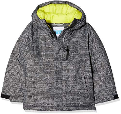 Columbia Garçon Veste de Ski, ALPINE FREE FALL, Nylon Hydra Cloth, Rouge (Red Spark/Dark Mountain), Taille : S