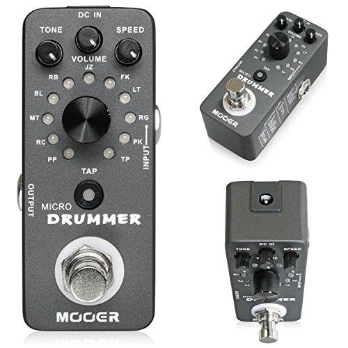 Mooer Micro Drummer ミニサイズドラムマシン