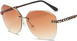 JOYS CLOTHING 男性用レトロサングラスレトロクラシックカラーミラーレンズメガネ (Color : A)
