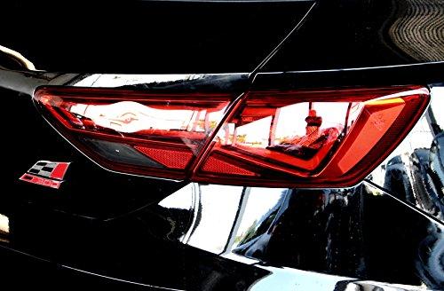Finest Folia Rückleuchten Folie Aufkleber Set Links & rechts Heckleuchten Scheinwerfer CO27/28 (C028 5F Facelift Limousine, Dark)