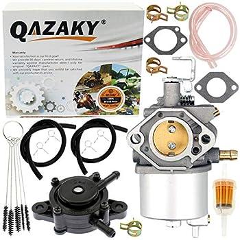 QAZAKY Carburetor Compatible with Kawasaki FE290 Engine Golf Cart Gas Club Car DS & Precedent Turf Carryall Carb 1992 1993 1994 1995 1996 1997 1016438 1016439 1016440 1016441 1016478 17552 101805601