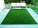2x6 Feet grass carpet Colour :Green: , Package Contents:- 1 Artificial Grass Mat, Grass Carpet-Summer Use Grass Carpet, All season usage without any affect from rain or snow. Minimum shedding. Durable and. Can sustain heat and heavy usage Where to us...