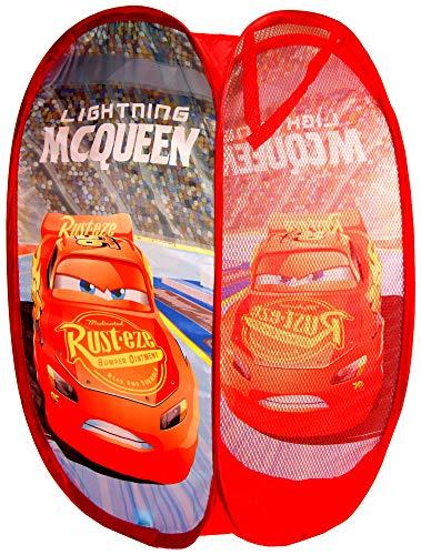 Disney Pixar Cars Pop Up Laundry,Toys Basket,Storage Bin,Official Licensed