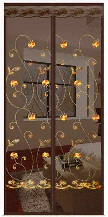 LBBL Memphis Mall Magnetic Screen Door,Install Without Drilling Mesh Cu Luxury goods Fly