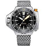 Steeldive 1969 Reloj de buceo automático para hombre, 1200 m,...