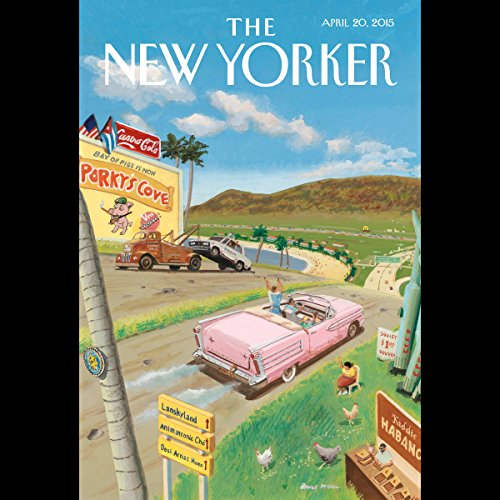 The New Yorker, April 20th 2015 (William Finnegan, James Verini, Peter Schjeldahl) copertina