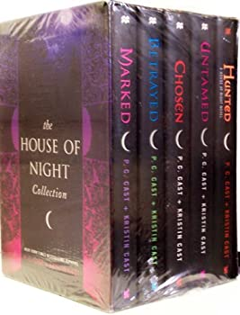 Hardcover The House of Night Collection - Marked / Betrayed / Chosen / Untamed / Hunted Book