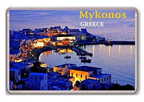 Greece/Mykonos/fridge/magnet.!!!!