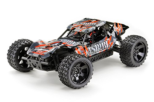Absima Hot Shot Series 12212 Absima Hot Shot ASB1 1:10 Green Power Elektro Modellauto Sand Buggy ASB1BL 4WD Brushless RTR Waterproof