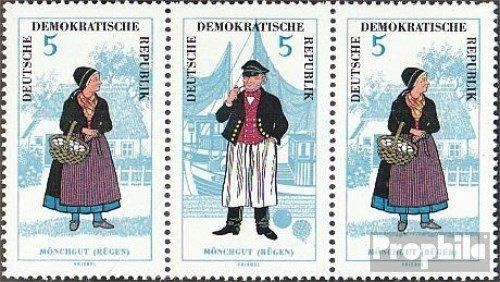 DDR mer.-no.: WZd150 1964 Costumes (Timbres pour Les collectionneurs) Uniformes / Costumes