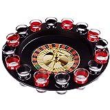 Gaoominy Neuheit Kreatives Getr?nk Plattenspieler Spielzeug Russisches Roulette Rad 16 Weinschalen Bar Ktv Nacht Party Unterhaltung -