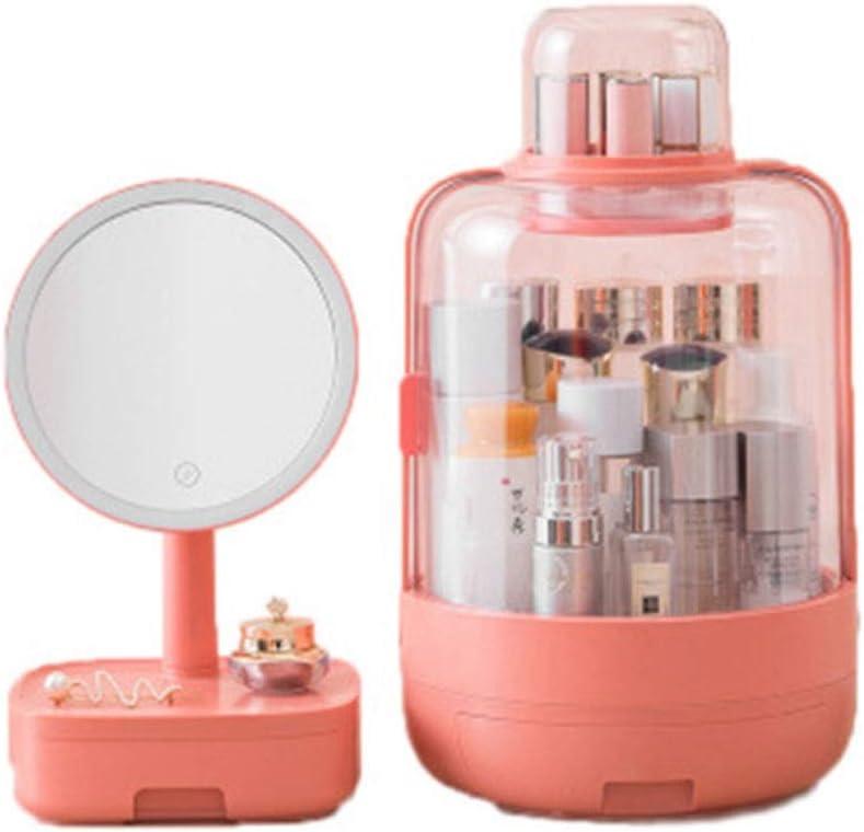 Qin Makeup Mirror Vanity Box - Dustproof Ranking TOP10 Organizer Japan Maker New