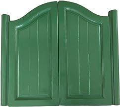Swinging Doors Cafe Doors, Indoor Massief houten gratis poort, Bar Half Door Fence Swing Door, 3 kleuren aanpasbaar (kleu...
