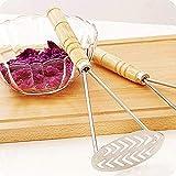 DULALA Presse per Aglio 2 Pezzi Schiacciapatate Forniture per Cucina Controllo Pressione F...